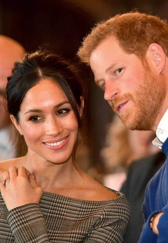 Meghan markle and prince harry in love