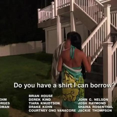 borrow shirt?