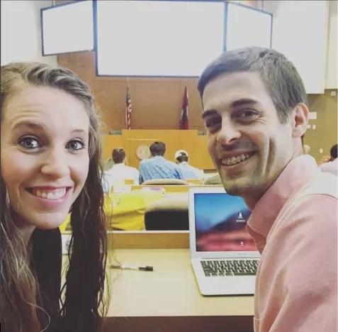 Jill Duggar and Derick Dillard in Class