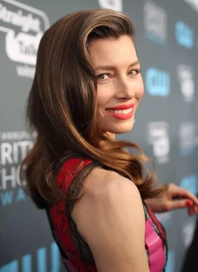 Jessica Biel Side Smile