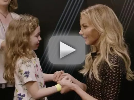 Faith hill cutest fan ever sing precious duet