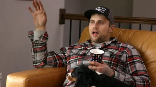 Ryan Edwards has lots of anger