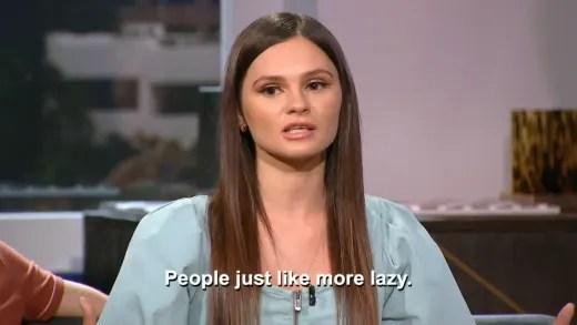 Julia Trubkina - people just like more lazy