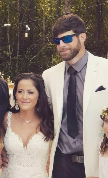Jenelle Evans and David Eason Wedding Pic