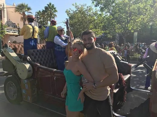 Britney Spears and Sam Asghari, Disneyland