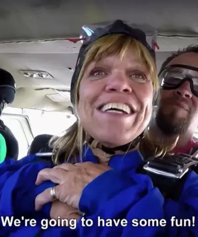 Amy Roloff Sky Dives
