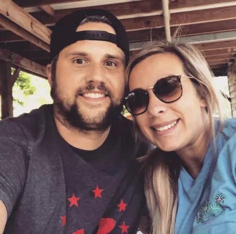 Ryan Edwards and Mackenzie Standifer Selfie