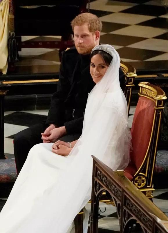 At their wedding
