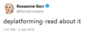 Roseanne Barr new tweets 03