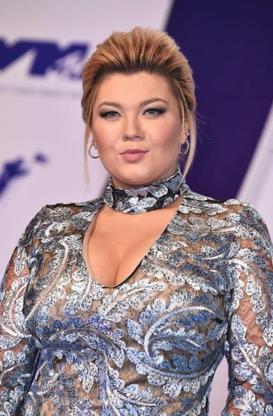 Amber Portwood at 2017 VMAs