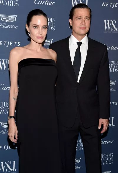 Angelina Jolie and Brad Pitt Throwback Pic
