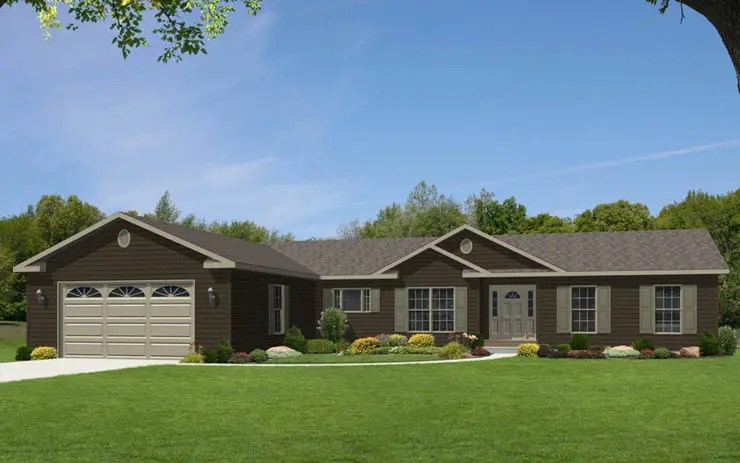 Stunning One Story Ranch House 25 Photos - House Plans