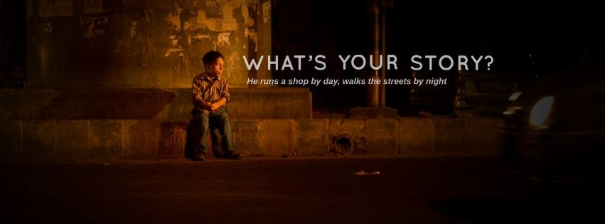 What's your story? AkkarBakkar wants the world to know. ©AkkarBakkar