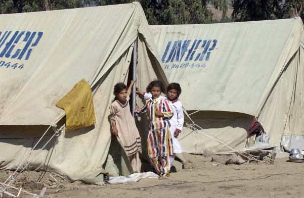 UN Refugee Agency Provides Shelter to Quake Victims