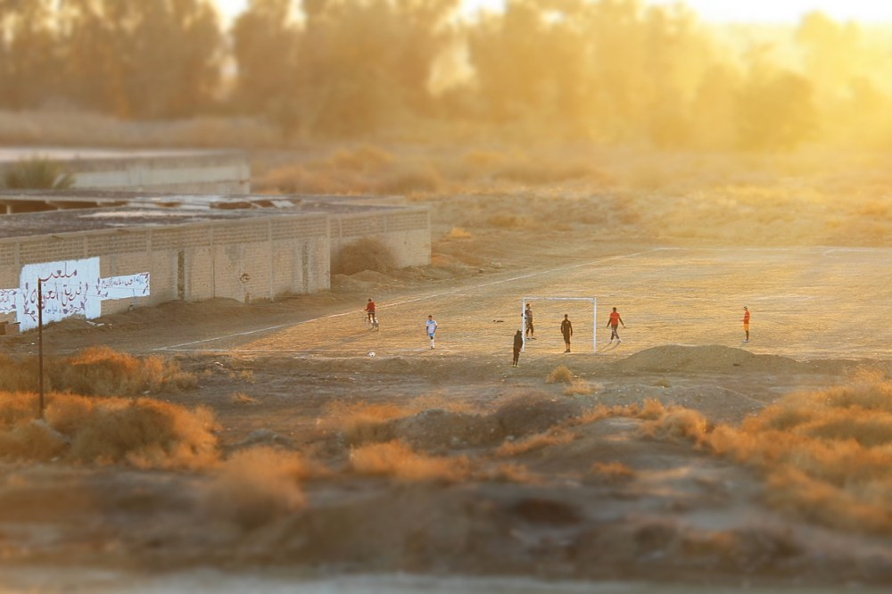 football-children-iraq