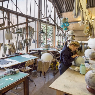 Bellerby & Co. Globemakers workshop. © Andrew Meredith
