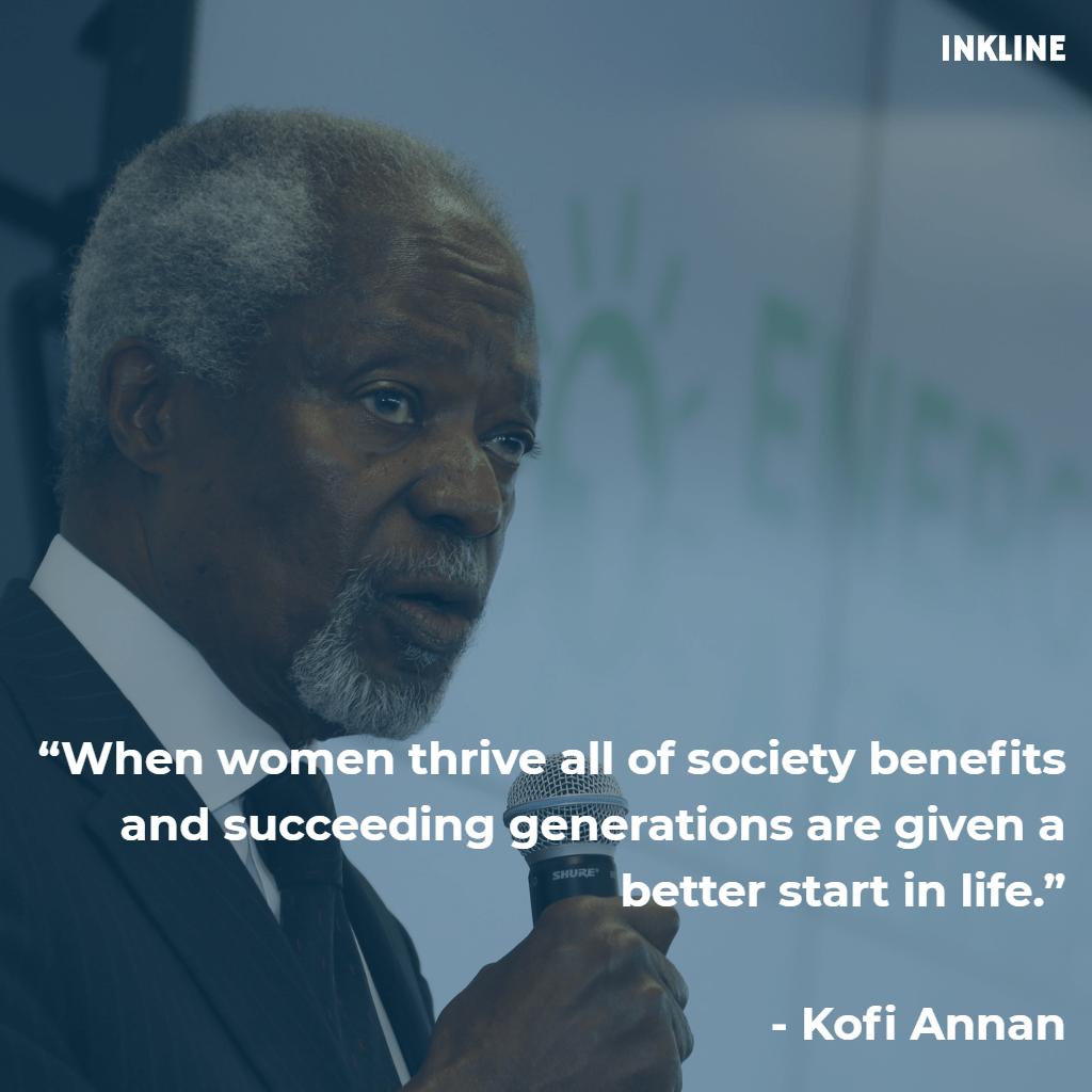 kofi-annan-inkline-women-empowerment