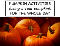 Pumpkin Activities for the Whole Day image