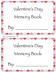 Valentine's Day Memory Book preview