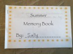 Summer Memory Book example 1
