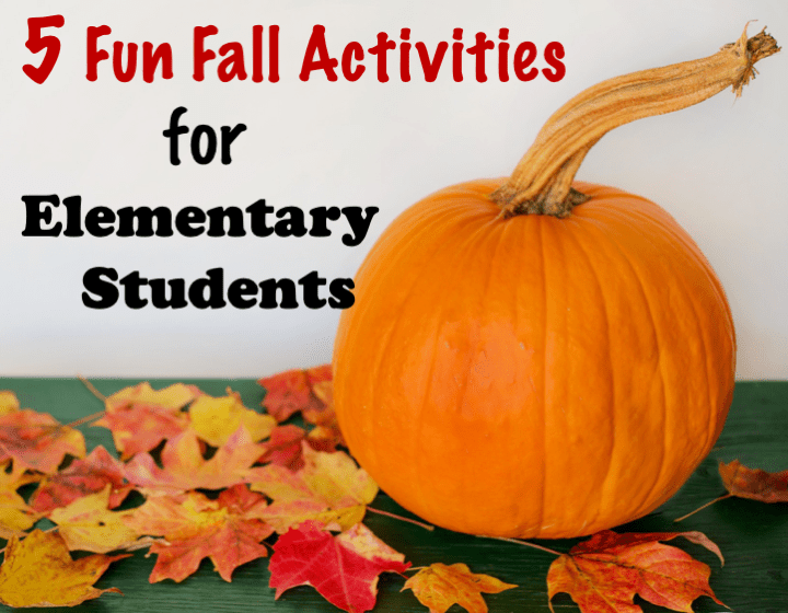 5 Fun Fall Activities for Elementary Students