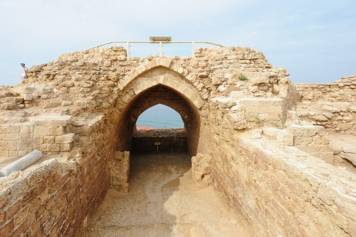 Inner gate to crusader fortress