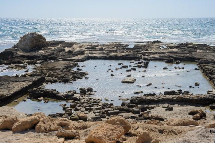 Pool at Herod's palace (praetorium)