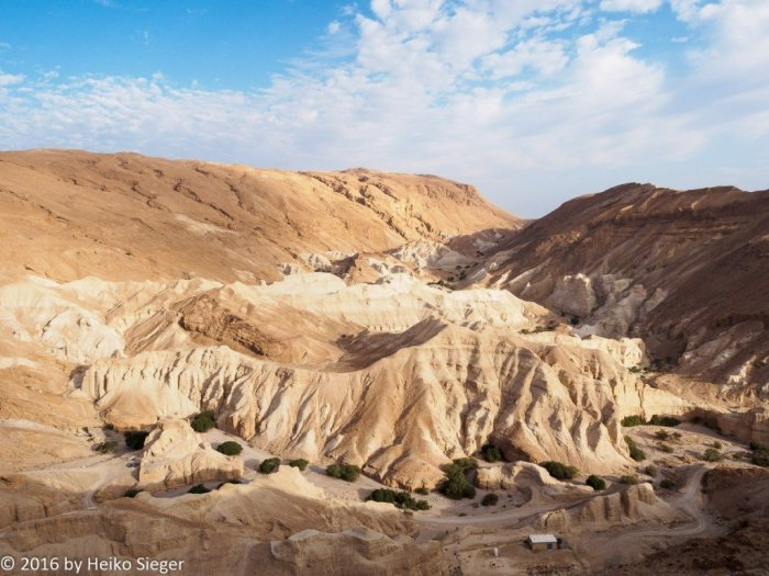 Zohar fortress, Nahal Zohar