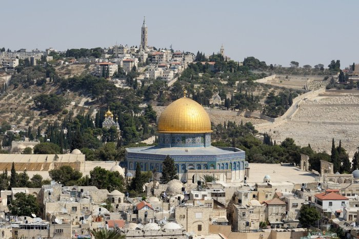 Temple Mount with Dome of the Rock