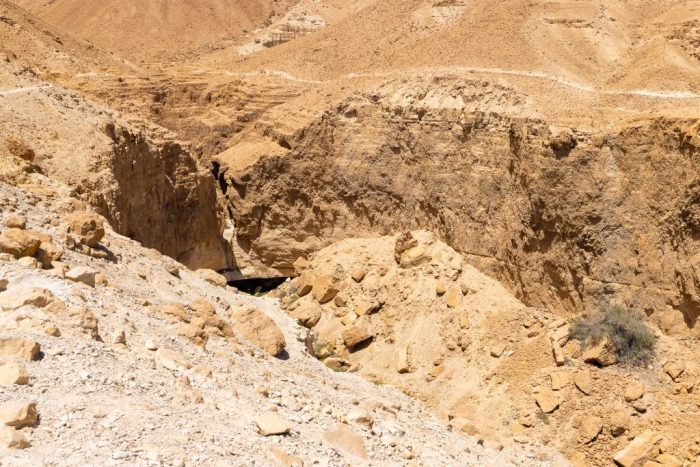 Zafit Trail und Fenster-Wasserfall