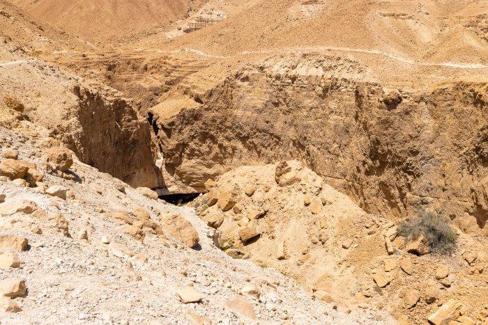 Tsafit trail and Window Fall