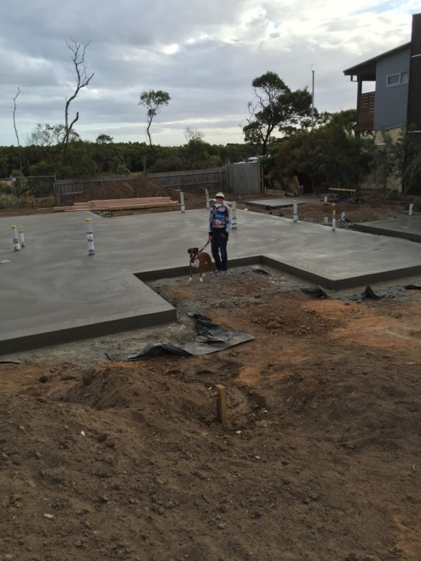 Daniel Fear concreter: House slab, garage slab and cottage slab for the 'Build and Eco-Friendly, Allergy-Free House' project