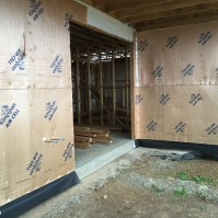 Kingspand AirCell 3 in 1 Thermal Building Wrap used on Exterior of Build and Allergy-Free, Eco-Friendly House Project