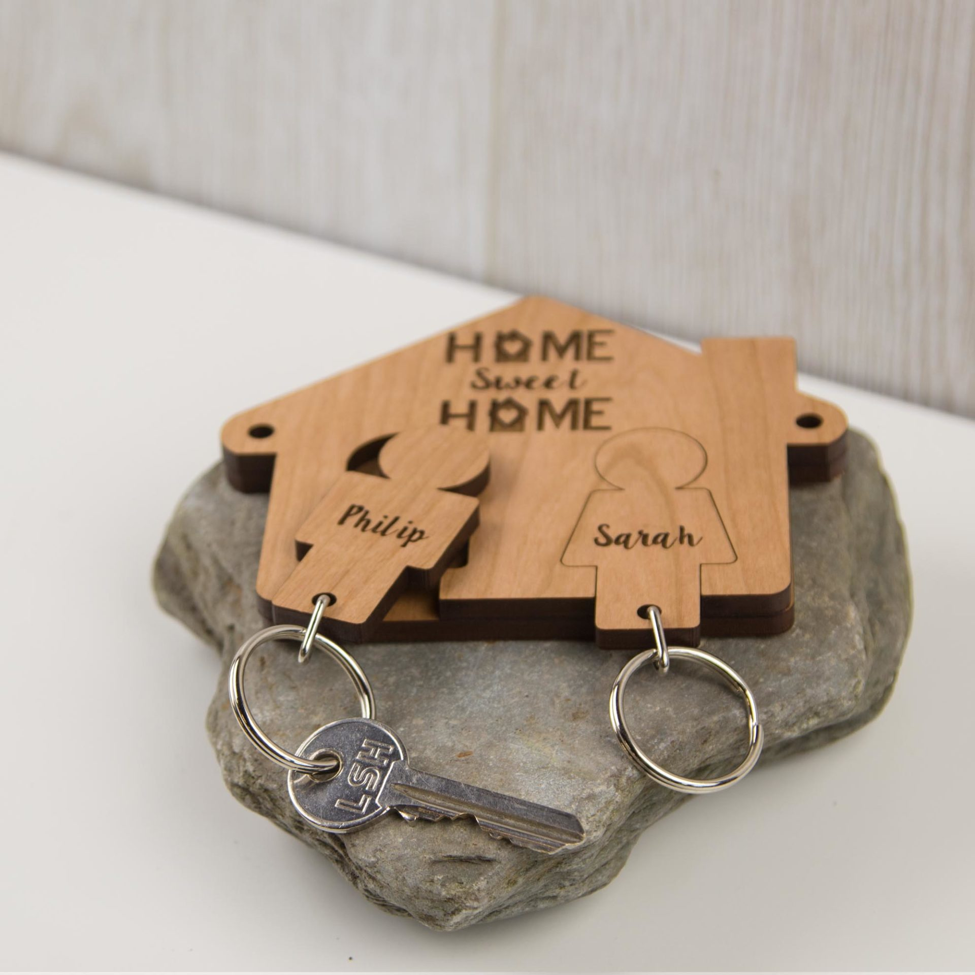 Home Sweet Home Key Holder The Laser Boutique