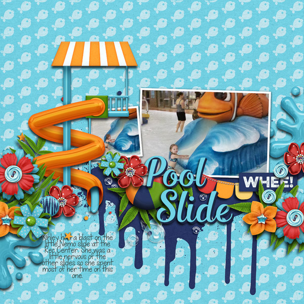 air mattress chair what does a gaming do digital scrapbook kit - water park | kristin aagard