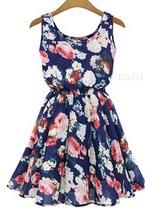 NAvy-blue-summer-dress-floral-dress-flower-dress-summer-flowers-the-little-flower-shop-florist-london-flower-shop