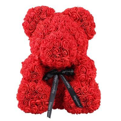 valentines-teddy-bear-flowers-flower-rose-teddy-bear-made-of-flowers-love-teddy-toy-rose-flowers-the-little-flower-shop-BRIGHT-RED