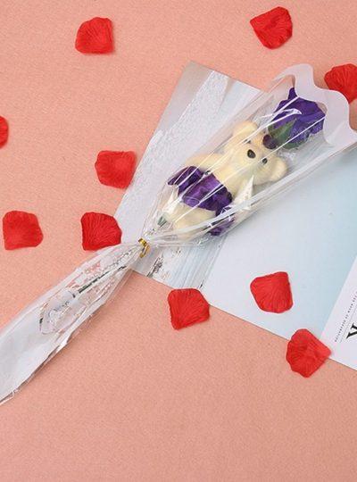 Soap-Rose-flower-teddy-foam-the-little-flower-shop-florist-londonRose-Flower-For-Romantic-Valentines-Day-Creative-Gifts-Mother-s-Day-Artificial-Flower-Bear-Rose-4