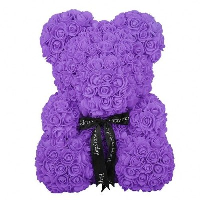 Artificial-Flowers-Rose-Bear-Girlfriend-Anniversary-Christmas-Valentine-s-Day-Gift-Birthday-Present-For-Wedding-Party-PURPLE-LARGE
