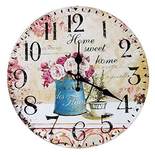 Decorative Wall Clock | Unique Gifts Online | The Little Flower Shop UK