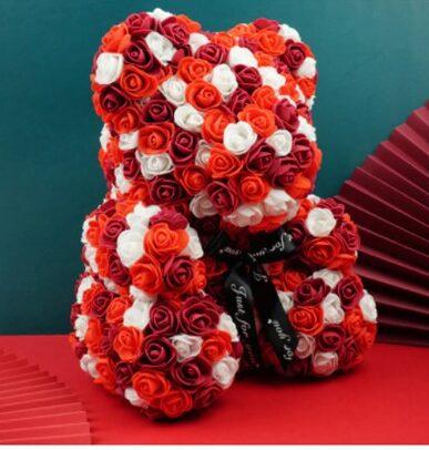 red-white-large-teddy-bear-rose-flower-multi-colour-the-little-flower-shop