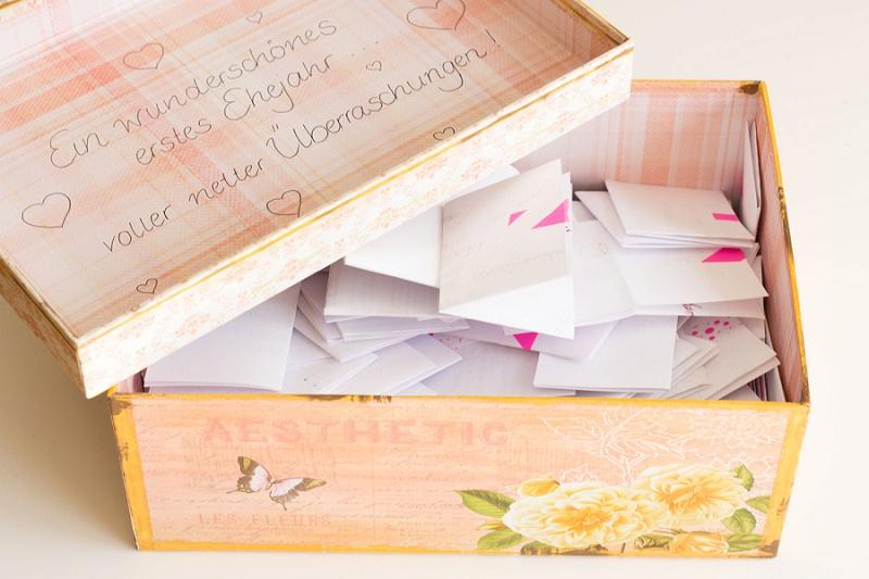 Geschenkaktionen und Hochzeitsspiele die mal nicht nerven