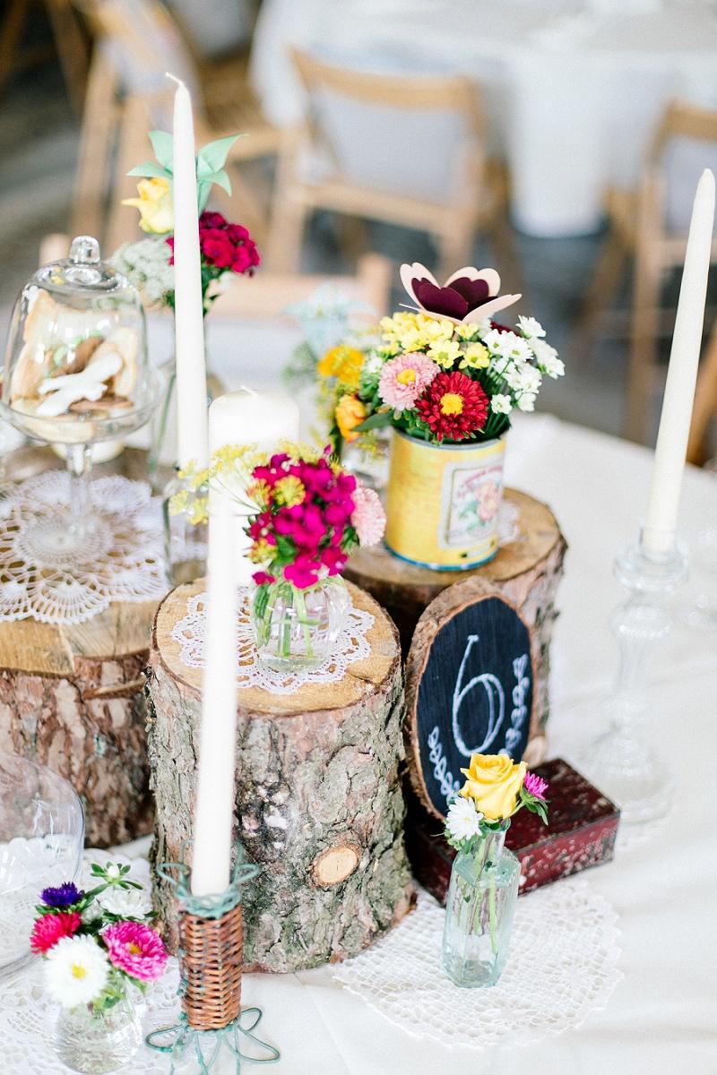 Moderne DIYHochzeit von Julia und Gil  Hochzeitsblog The Little Wedding Corner