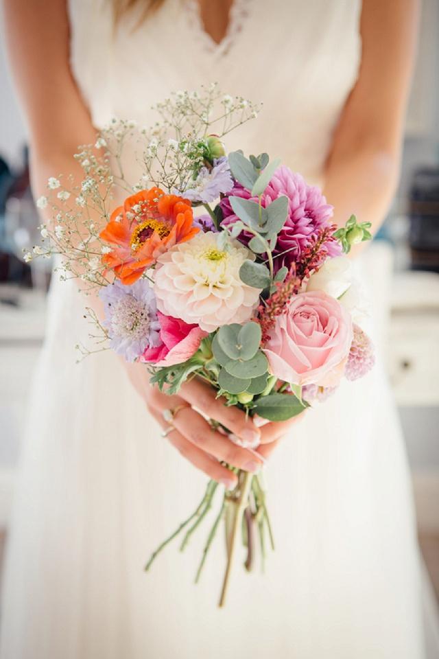 Bunte Boho Hochzeit von Freckle Photography