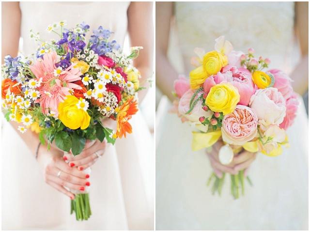 14 Ideen fr euren Brautstrau und welche Blumen wann verfgbar sind  Hochzeitsblog The Little