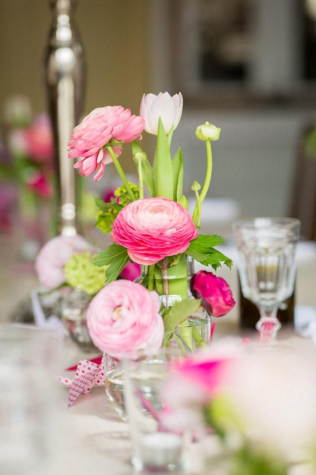 Blumendeko Hochzeit Ranunkeln
