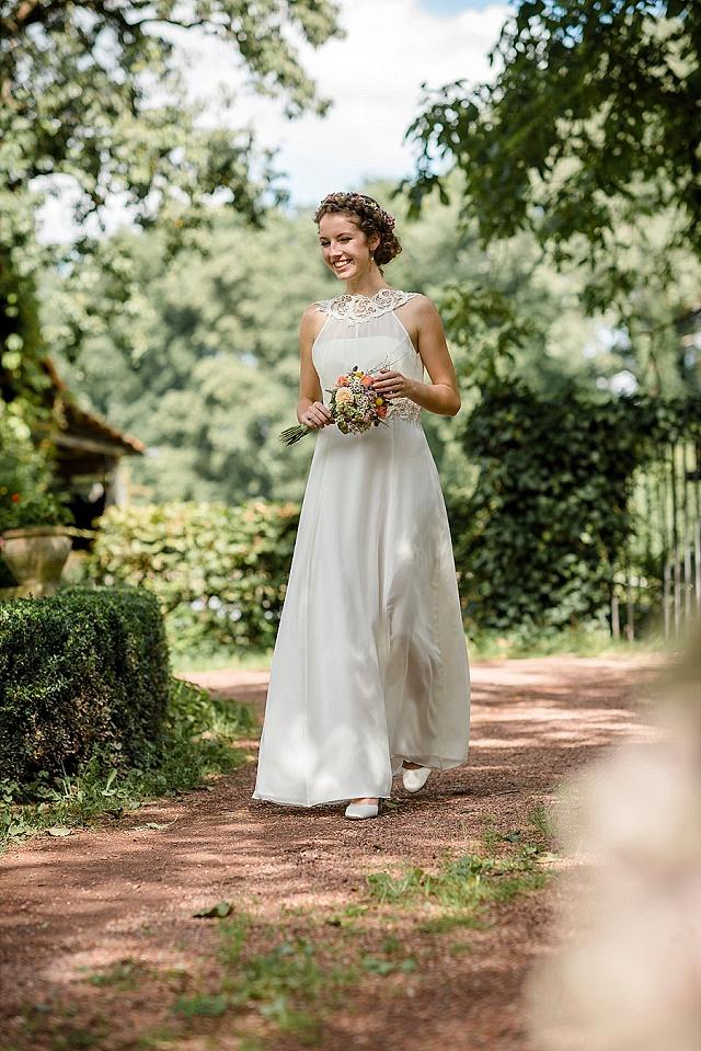 Claudia Heller Brautmode 2016 im Vintage Stil