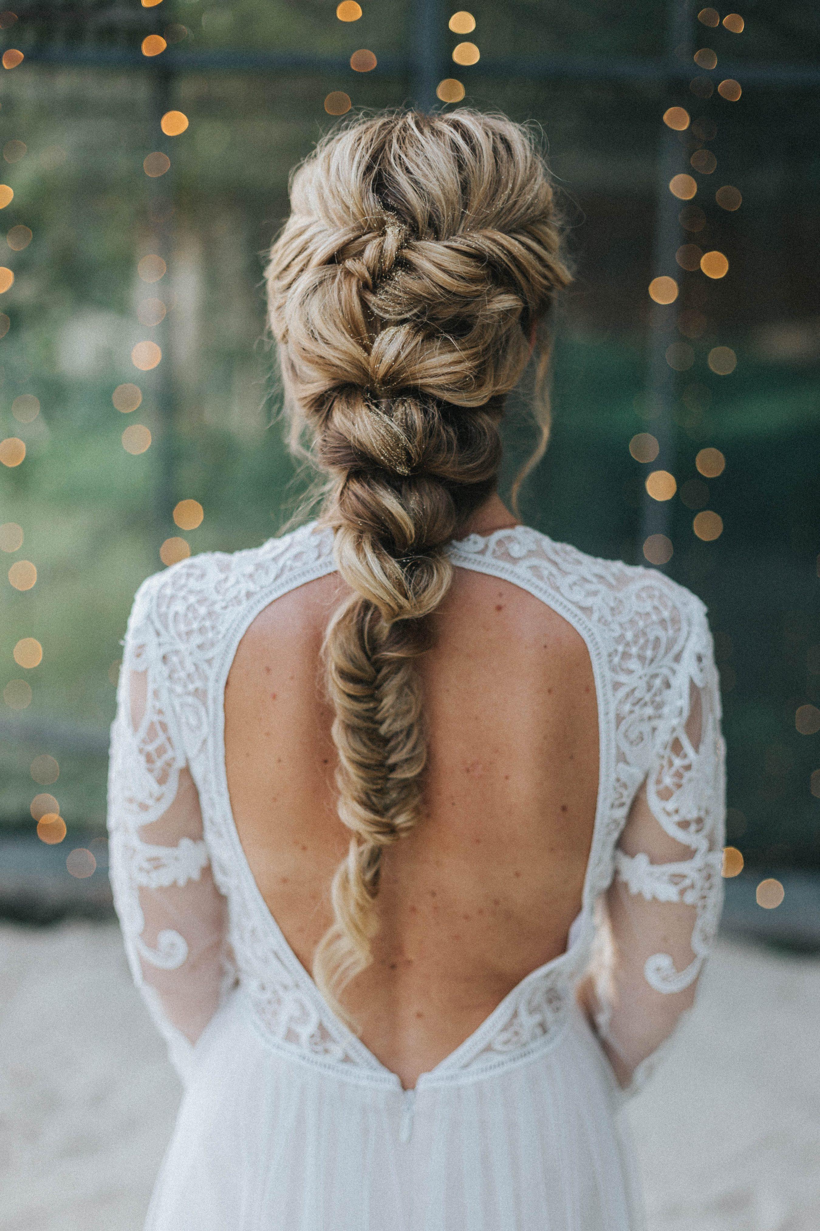 Brautfrisuren 2018 fr mittellange und lange Haare mit