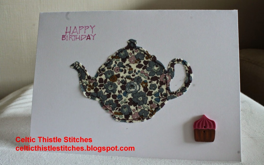 Finish Along Quarter 2 Tutorial Week – Stitched Fabric Cards With Celtic Thistle Stitches