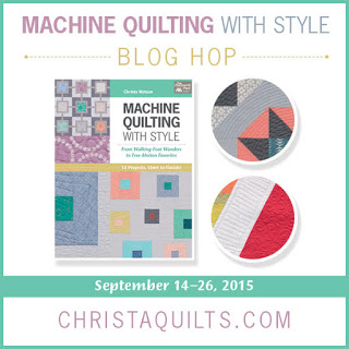 Machine Quilting With Style Blog Hop
